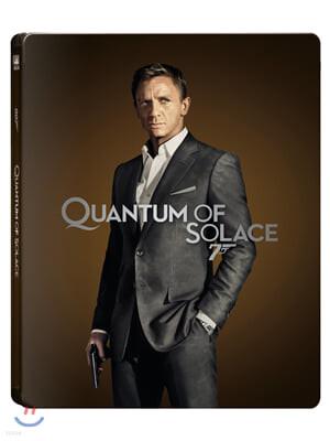 007 퀀텀 오브 솔러스 (2Disc 4K UHD + 2D 스틸북 한정판) : 블루레이