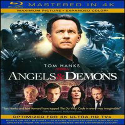 Angels & Demons (천사와 악마) (Mastered in 4K)(한글무자막)(Single-Disc Blu-ray+Ultra Violet Digital Copy) (2009)