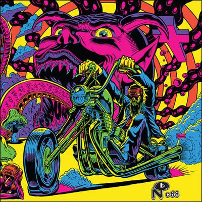 1970년대 포스트 히피 컴필레이션 앨범 (Warfaring Strangers: Acid Nightmares) [불투명 블루 컬러 2LP]