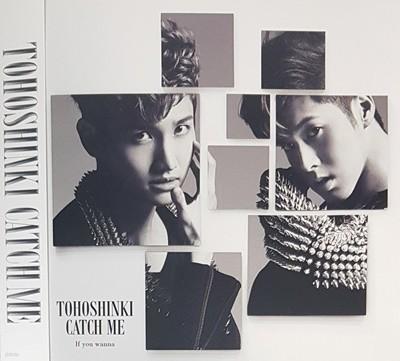 [일본반] 동방신기 (東方神起) - Catch Me -If You Wanna- [자켓사이즈 카드 1매 랜덤 삽입]