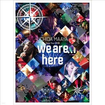 Uchida Maaya (우치다 마아야) - Zepp Tour 2019 「We Are Here」 (Blu-ray)(Blu-ray)(2020)