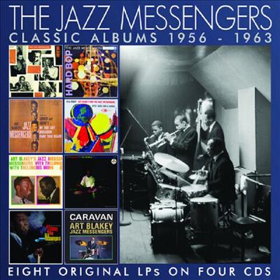 Jazz Messengers (Donald Byrd / Horace Silver / Art Blakey / Hank Mobley) - Classic Albums 1956-1963 (4CD)
