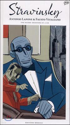 일러스트로 만나는 이고르 스트라빈스키 (Stravinsky Illustrated by Antonio Palone)