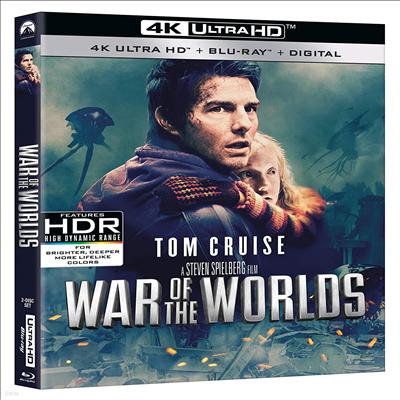 War Of The Worlds (2005) (우주 전쟁) (4K Ultra HD+Blu-ray)(한글무자막)