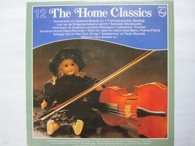 LP(엘피 레코드) The Home Classics 12 - 로베르트 하넬 / 쿠르트 마주어 외