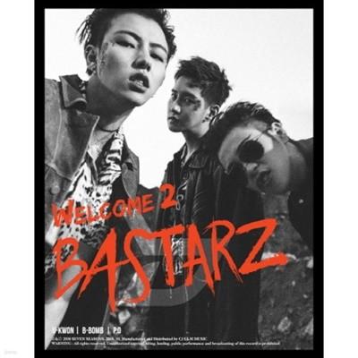 [중고] 블락비 바스타즈 (Block.B BASTARZ) / 미니 2집 WELCOME 2 BASTARZ