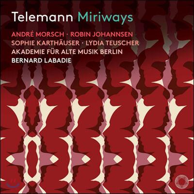 Bernard Labadie 텔레만: 오페라 '미리바이즈' (Telemann: Miriways)
