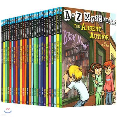 A to Z 미스터리 26종 원서 페이퍼백 박스 세트 : A to Z mysteries #1~26 Box Set