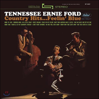 Tennessee Ernie Ford (테네시 어니 포드) - Country Hits...Feelin' Blue [LP]