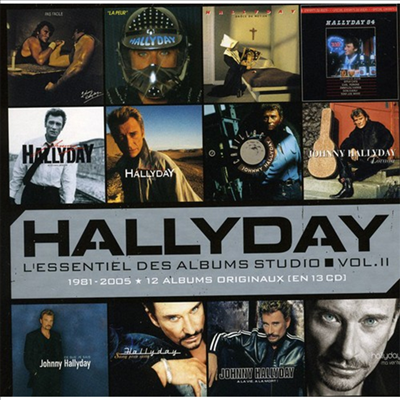 Johnny Hallyday - L'essentiel Des Albums Studio 2 (13CD)