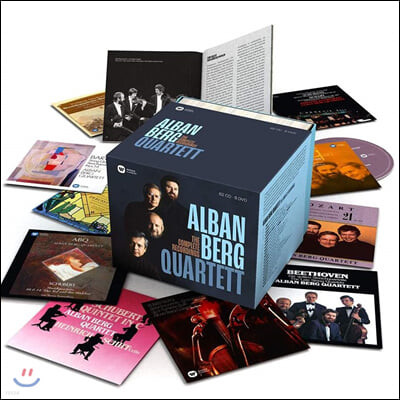 알반 베르크 사중주단 전집 (Alban Berg Quartet - The Complete Recordings)