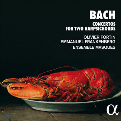 Olivier Fortin / Emmanuel Frankenberg 바흐: 두 대의 하프시코드를 위한 협주곡 (Bach: Concertos for Two Harpsichords)