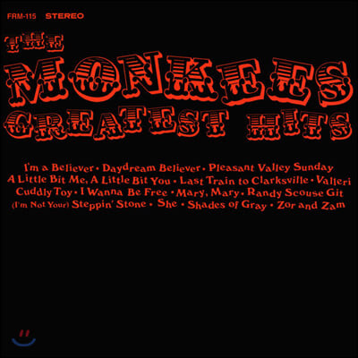 The Monkees (몽키스) - Greatest Hits [LP]
