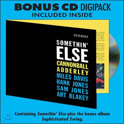 Cannonball Adderley (캐논볼 애덜리) - Somethin' Else [LP+CD]