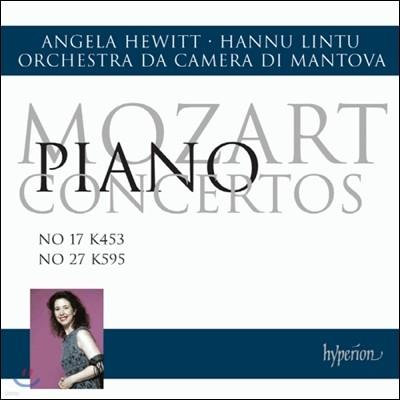 모차르트 : 피아노 협주곡 17 & 27번 - 안젤라 휴이트