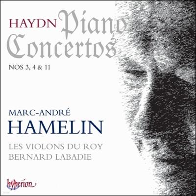 Marc-Andre Hamelin 하이든 : 피아노 협주곡 3번, 4번 & 11번 (Haydn : Piano Concertos Nos 3, 4 & 11)