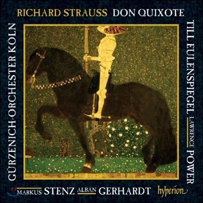 Markus Stenz 슈트라우스: 돈 키호테, 틸 오일렌슈피겔의 유쾌한 장난 (R. Strauss : Don Quixote Op.35, Till Eulenspiegels Lusitge Streiche Op.28) 마르쿠스 슈텐츠