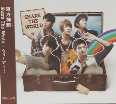 [일본반] 동방신기 (東方神起) - Share The World / ウィ?ア?! [CD+DVD]