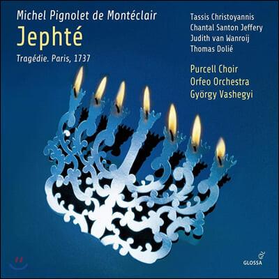 Tassis Christoyannis 몽테클레르: 오페라 '예프테' (Monteclair: Jephte)