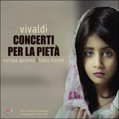 Fabio Biondi 비발디: 피에타를 위한 협주곡들 (Concerti per la Pieta)