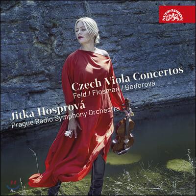 Jitka Hosprova 체코 작곡가들의 비올라 협주곡 (Czech Viola Concertos)