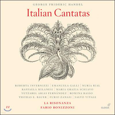 Fabio Bonizzoni 헨델: 이탈리아 칸타타 전집 (Handel: Italian Cantatas)
