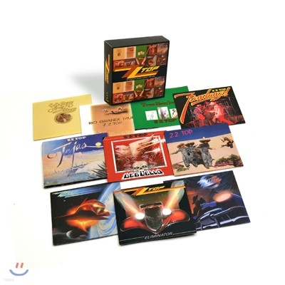 ZZ Top - The Complete Studio Albums 1970~90 (10CD Deluxe Box Edition)