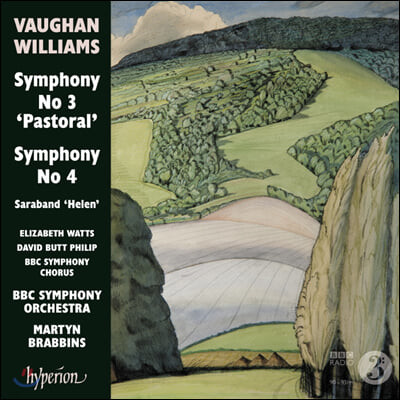 Martyn Brabbins 본 윌리엄스: 교향곡 3, 4번 (Vaughan Williams: Symphonies No. 3, 4)