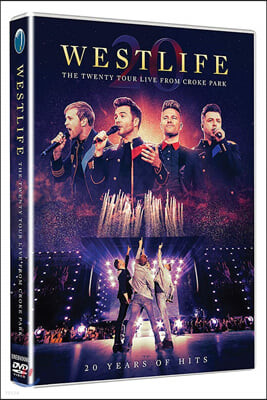Westlife (웨스트 라이프) - The Twenty Tour Live From Croke Park [DVD]