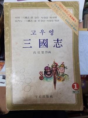고우영 삼국지 1~9번(1979년 초판발행)