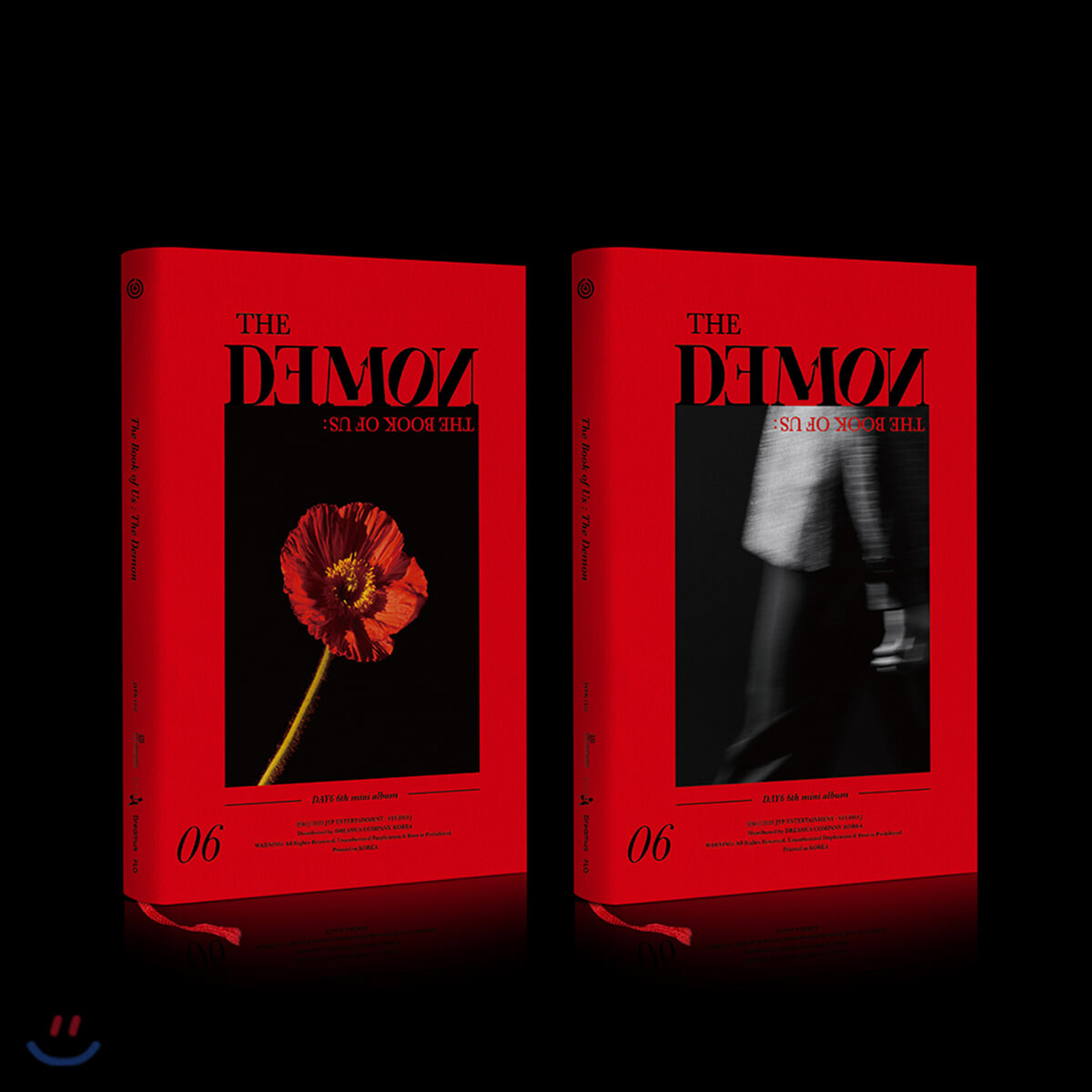 데이식스 (DAY6) - 미니앨범 6집 : The Book of Us : The Demon [MIDDAY Ver. 또는 MIDNIGHT Ver. 중 1종 발송]
