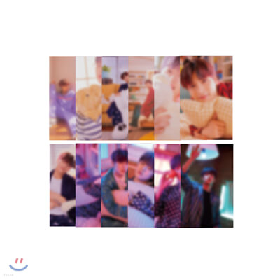 H&D (한결,도현) SOULMATE 미니캘린더 포토카드 세트