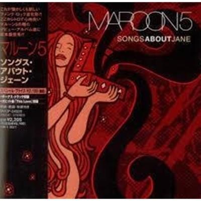 [일본반] Maroon 5 - Songs About Jane