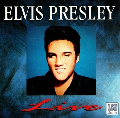 Elvis Presley - Live (수입)
