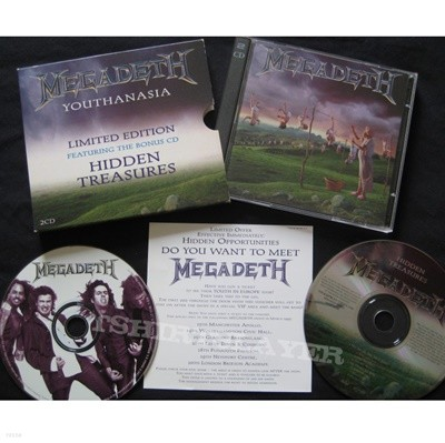 Megadeth - Youthanasia With Hidden Treasures (2CD) (수입)