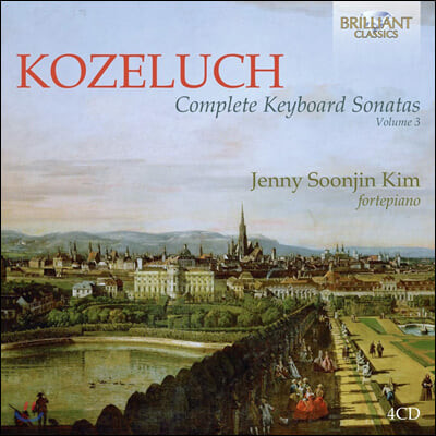 김순진 Jenny Soonjin Kim 레오폴트 코젤루흐: 키보드 소나타 전곡 3집 [포르테피아노 연주반] (Leopold Kozeluch: Complete Keyboard Sonatas Vol.3)