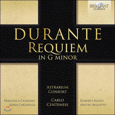 Astrarium Consort 프란체스코 두란테: 레퀴엠 (Francesco Durante: Requiem)
