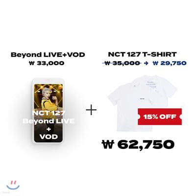 NCT 127 Beyond LIVE +VOD관람권 + Beyond the Origin 티셔츠