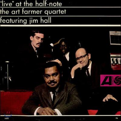 Art Farmer Quartet (아트 파머 쿼텟) - Live At The Half-Note [LP]
