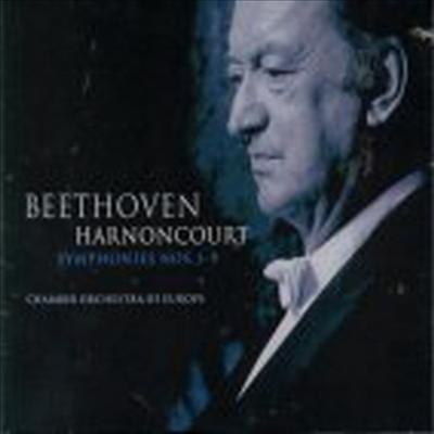 베토벤 : 교향곡 전곡집 (Beethoven : 9 Symphonies) (5CD) - Nikolaus Harnoncourt