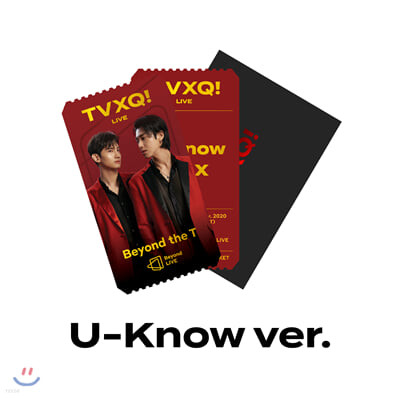 [U-KNOW] TVXQ! Beyond LIVE Beyond the T SPECIAL AR TICKET SET