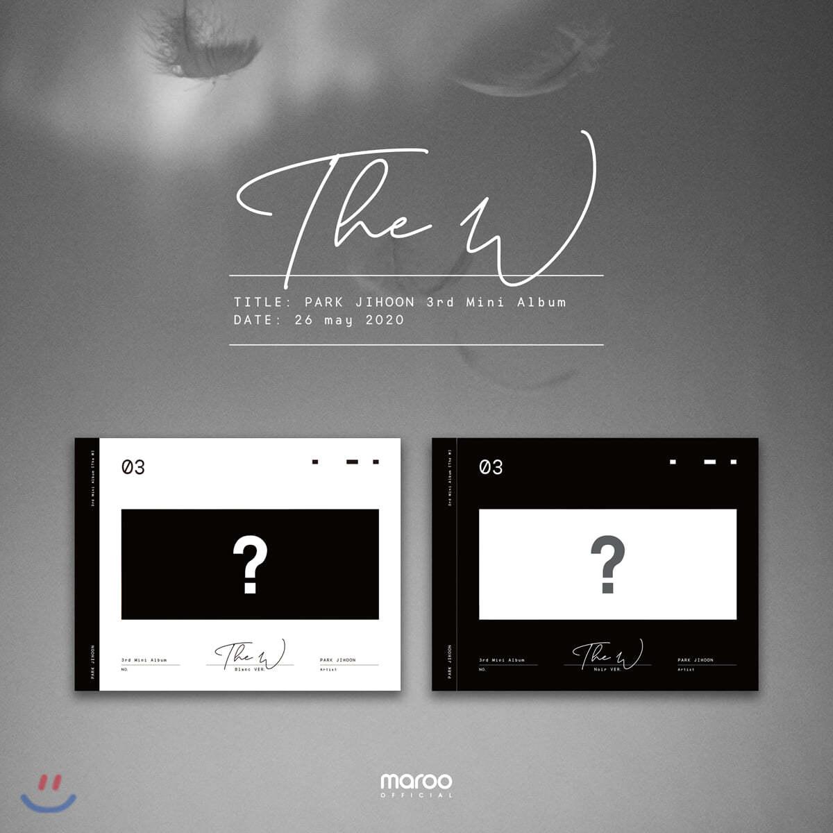 박지훈 - 미니앨범 3집 : The W [Blanc ver.]