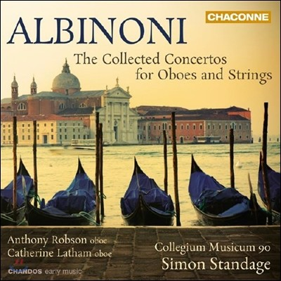 Anthony Robson 토마소 알비노니 : 오보에와 현악을 위한 협주곡 (Albinoni: Concertos for Oboes and Strings)