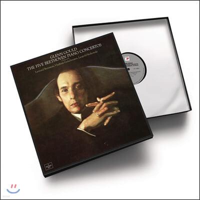 Glenn Gould 베토벤: 피아노 협주곡 전곡집 - 글렌 굴드 (Beethoven: The Five Piano Concertos) [5LP]