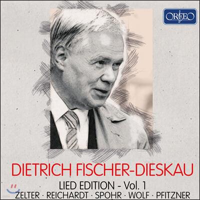 디트리히 피셔 디스카우 가곡 에디션 1집 (Dietrich Fischer-Dieskau Lied Edition, Vol. 1)