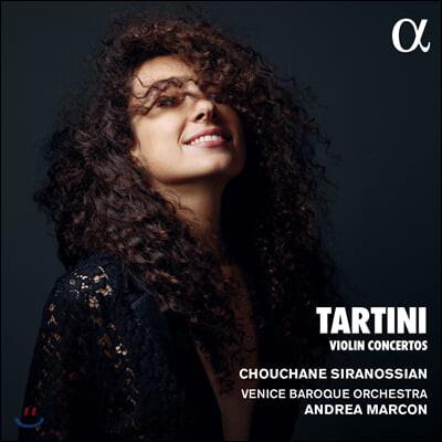 Chouchane Siranossian 타르티니: 바이올린 협주곡집 (Tartini: Violin Concertos)