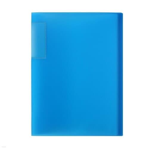 A4 인덱스 클리어파일(블루) (60매) / 서류화일