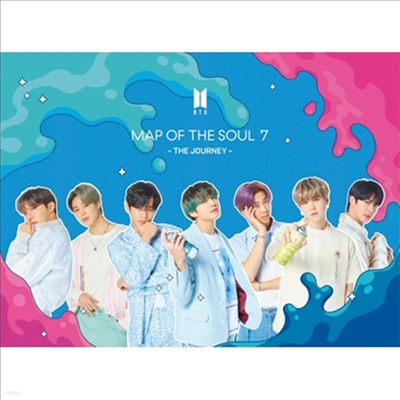 방탄소년단 (BTS) - Map Of The Soul: 7 ~The Journey~ (CD+DVD) (초회한정반 B)