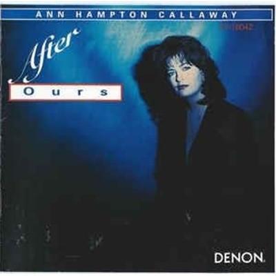 [수입] Ann Hampton Callaway - After Ours