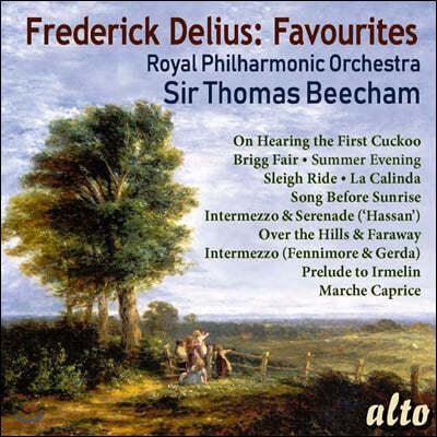 Thomas Beecham 딜리어스 유명 작품집 (Delius: 11 Orchestral Favourites)